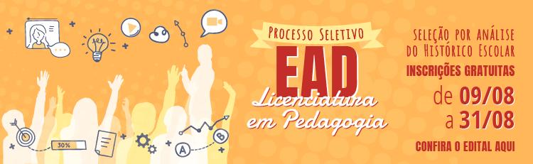 IFSP inscreve para 500 vagas em Curso de Licenciatura em Pedagogia (EaD)
