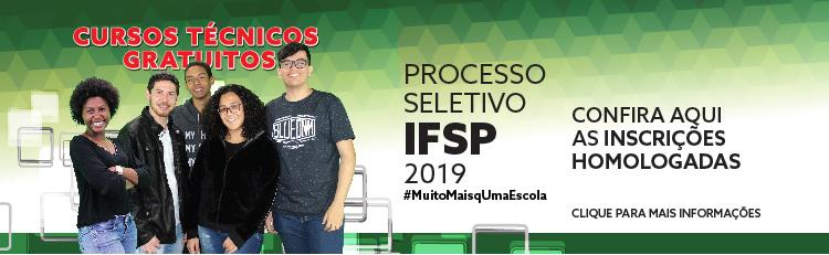1ª CONVOCAÇÃO PARA MATRÍCULA - Processo Seletivo 2019 - Cursos Técnicos