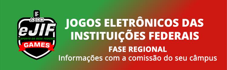 IFSP seleciona alunos para Jogos Eletrônicos eJIF Games 2021